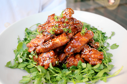 Sweet Sesame Soy Wings from Morton's Chef Joe Raiola